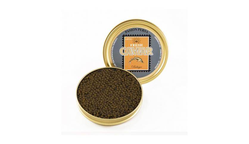 Local products Caviar Beluga 200gr. Marine Food. 1un.