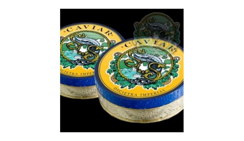 Local products Caviar Asetra Imperial 100gr. Sos. 1un.