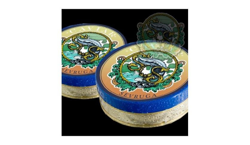 Local products Caviar Sevruga 100gr. Sos. 1un.