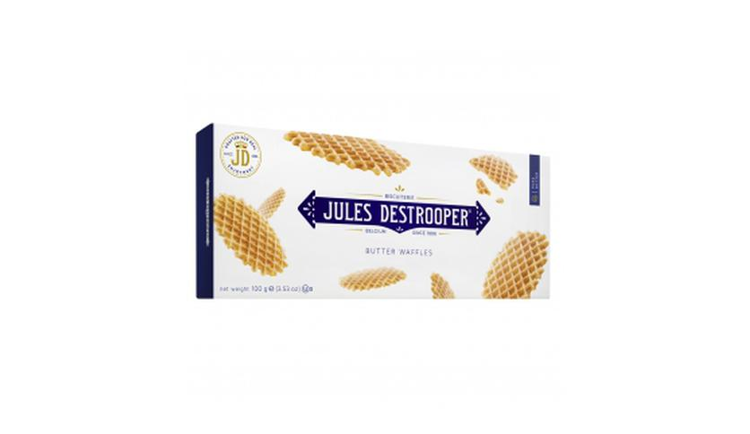 Local products Biscuits Gofres de París 100gr. Jules Destrooper. 12un.