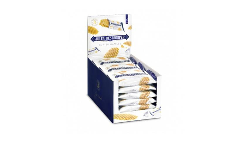 Local products Expositor Biscuits Gofres de París 18x33gr. Jules Destrooper. 1un.