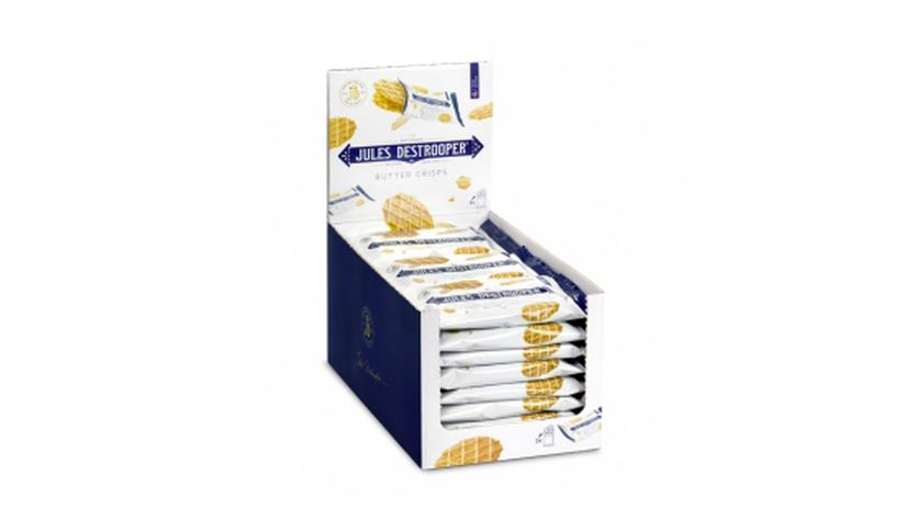 Local products Expositor Biscuits de Mantequilla 24x35gr. Jules Destrooper. 1un.