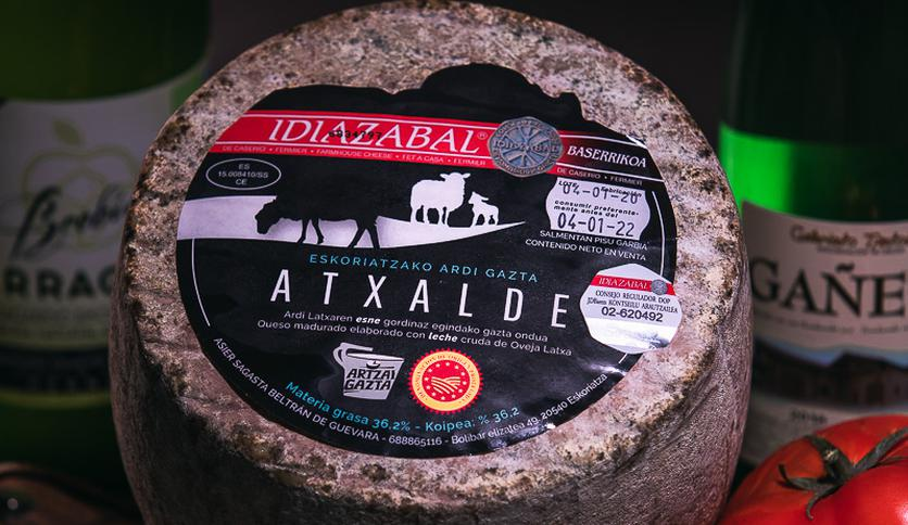 Local products QUESO IDIAZABAL ATXALDE D.P.O