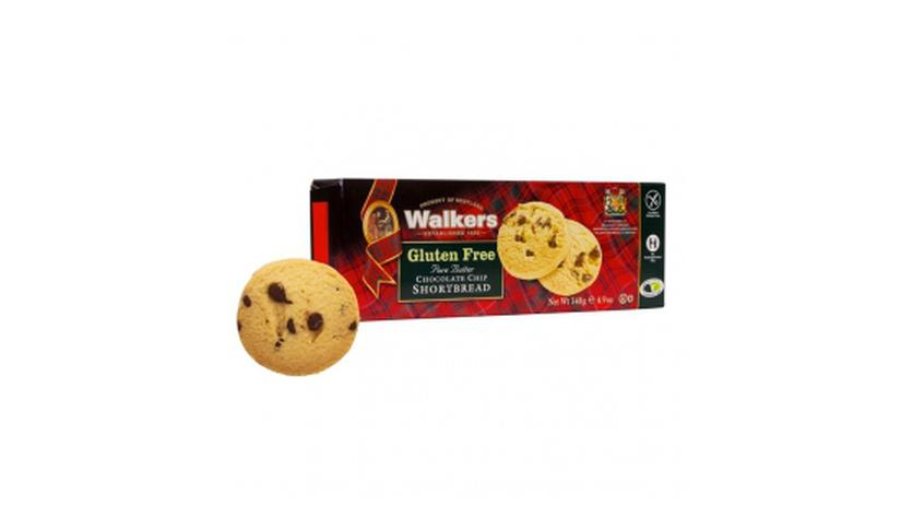 Local products Shortbreads de Mantequilla y Chocolate (Sin Gluten) 140gr. Walkers. 12un.