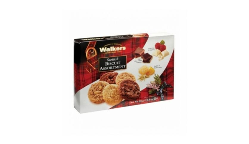 Local products Surtido Biscuits de Mantequilla 250gr. Walkers. 12un.