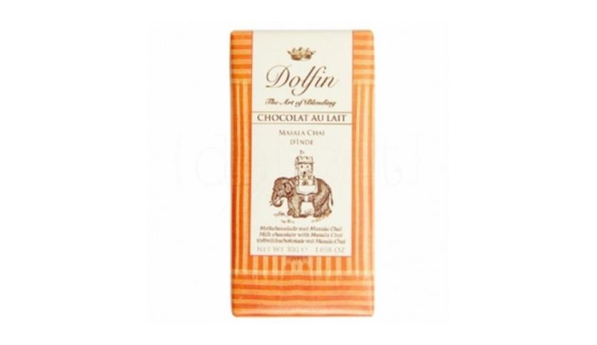 Local products Chocolate con Leche Masala Chai de la India 30gr. Dolfin. 25un.