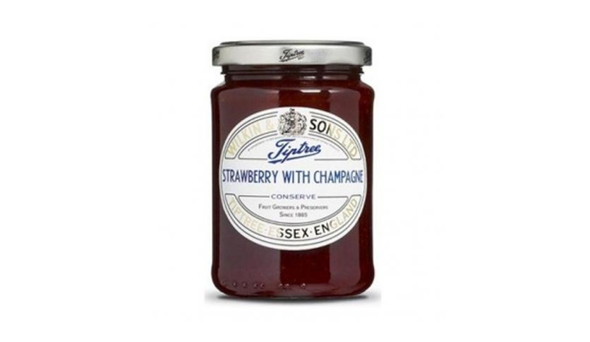 Local products Mermelada de Fresas & Champagne 340gr. Tiptree. 6un.