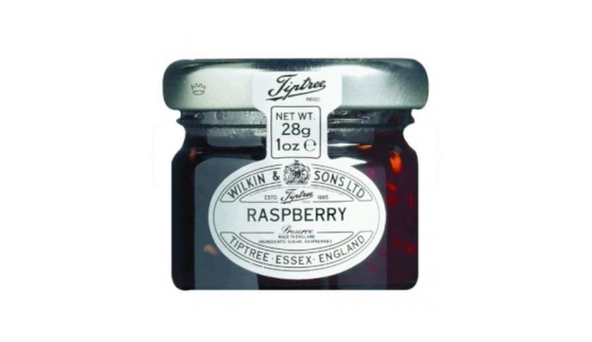 Local products Mermelada Frambuesa 28gr. Tiptree. 72un.