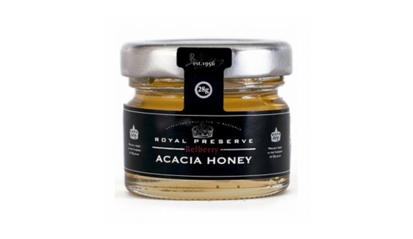 Local products Miel de Acacia 28gr. Belberry. 30un.