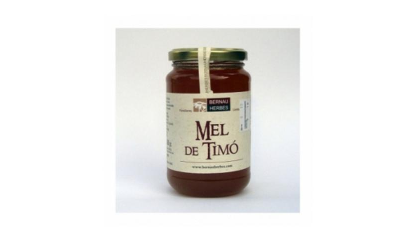 Local products Miel de tomillo 500gr. Bernau Herbes de l'Urgell. 6un.
