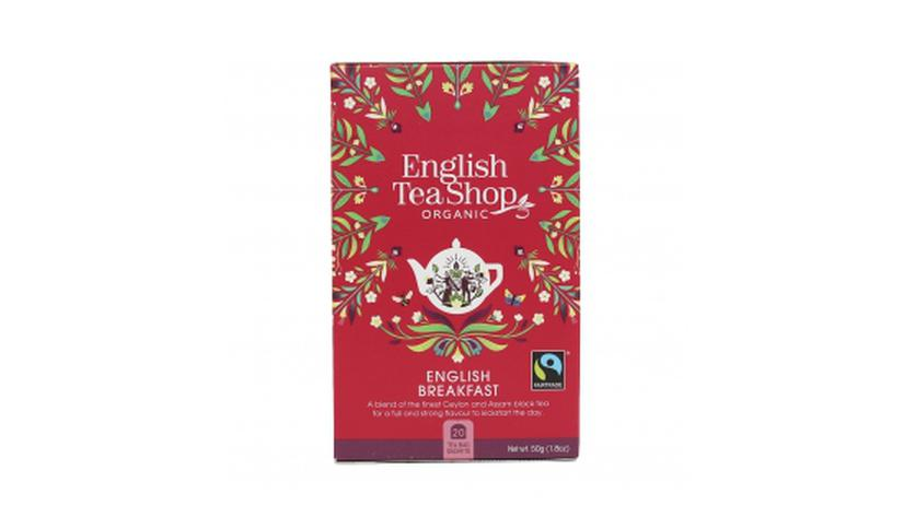 Local products Té English Breakfast BIO 50gr. English Tea Shop. 6un.