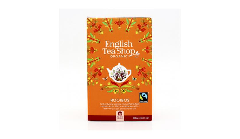 Local products Té Rooibos BIO 40gr. English Tea Shop. 6un.