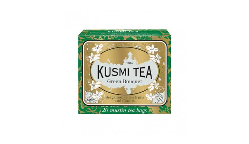 Local products Green Bouquet 20 Muslins. Kusmi Tea. 12un.