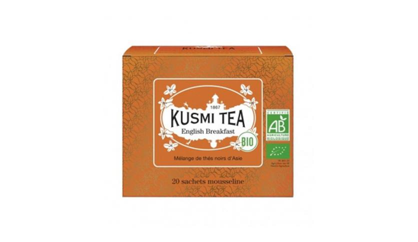 Local products English Breakfast BIO 20 Muslins. Kusmi Tea. 12un.