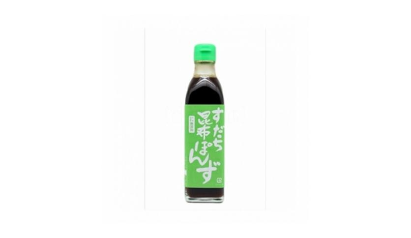 Local products Vinagre Sudachi-Kombu-Ponzu 30cl. Marusho. 6un.