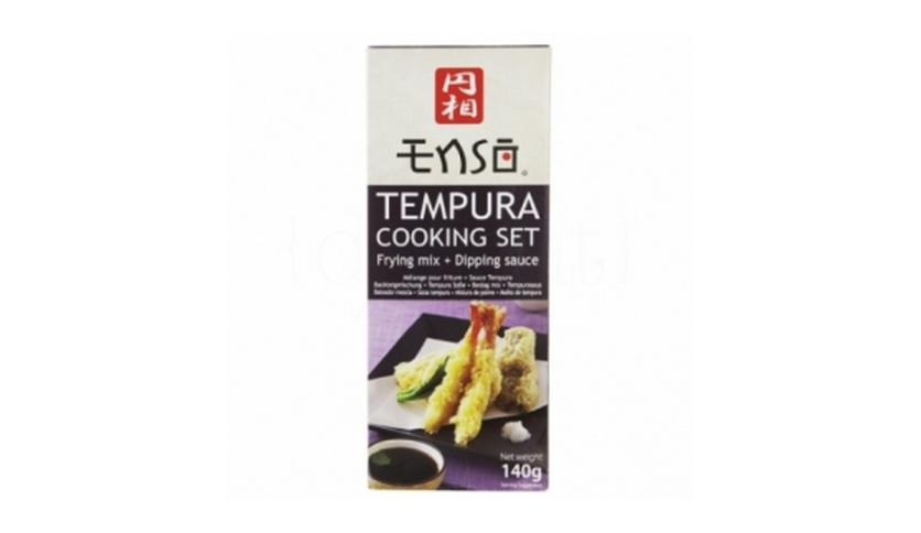 Local products Cooking Set Tempura 140gr. Enso. 6un.