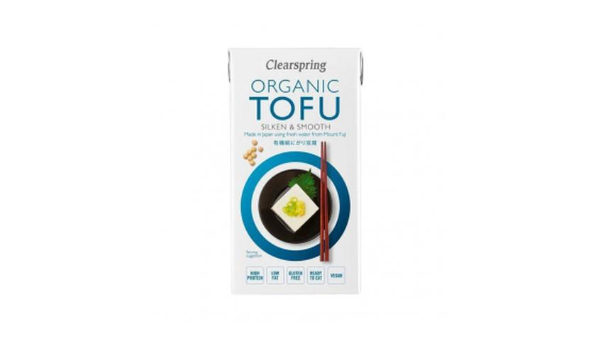 Local products Tofu Sedoso Japonés 300gr. Clearspring. 12un.