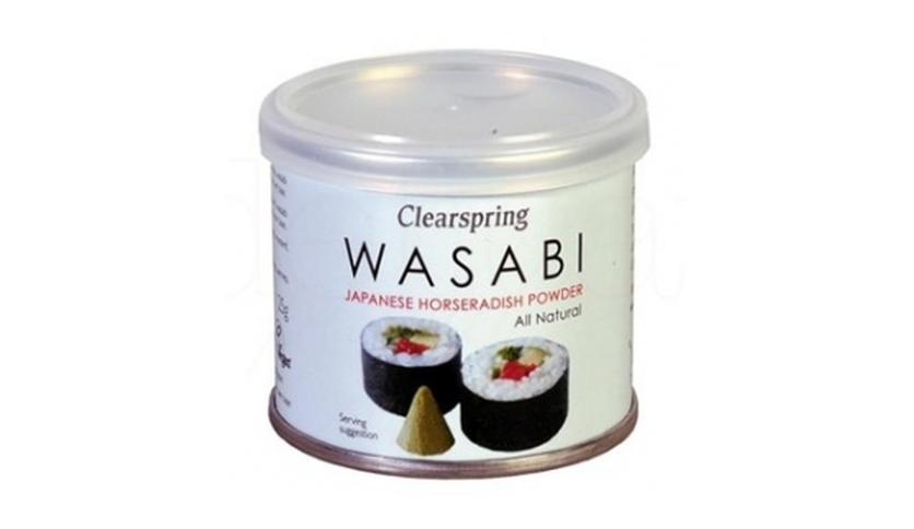Local products Wasabi en polvo 25gr. Clearspring. 6un.
