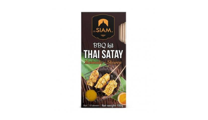 Local products Cooking Set Thai Satay 100gr. deSIAM. 6un.