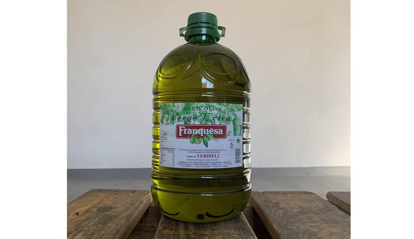 Local products EXTRA VIRGIN OLIVE OIL VERDIELL