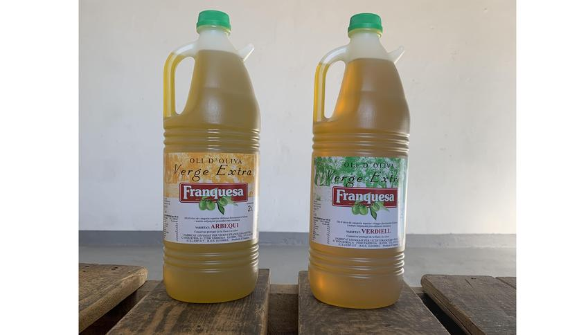 Local products PACK ACEITE DE OLIVA VIRGEN EXTRA ARBEQUINA Y VERDIELL