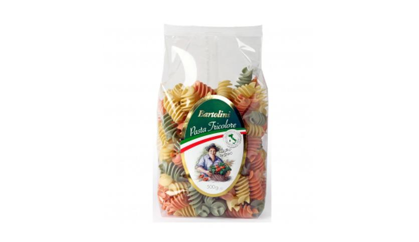 Local products Fusilli Tricolor 500gr. Bartolini. 12un.