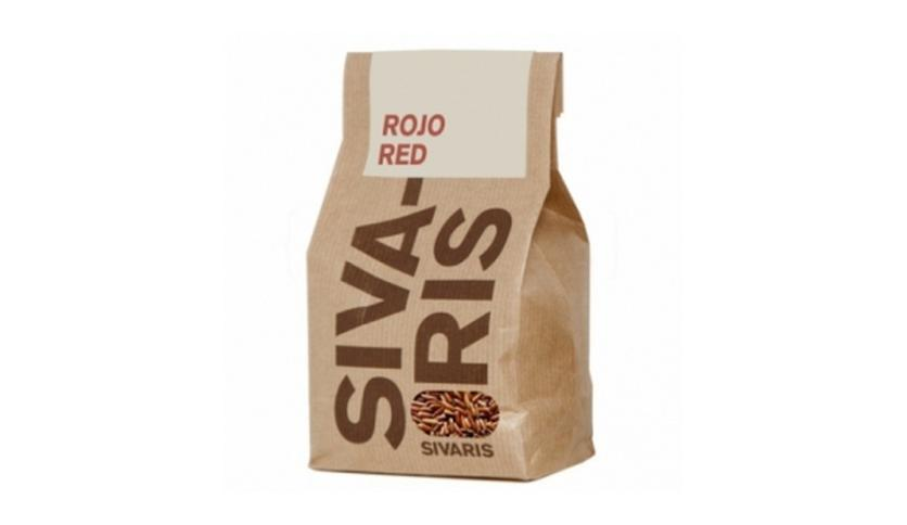 Local products Arroz Rojo (papel kraft) 500gr. Sivaris. 6un.