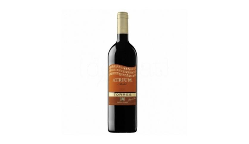 Local products Atrium Merlot 75cl. Torres. 6un.