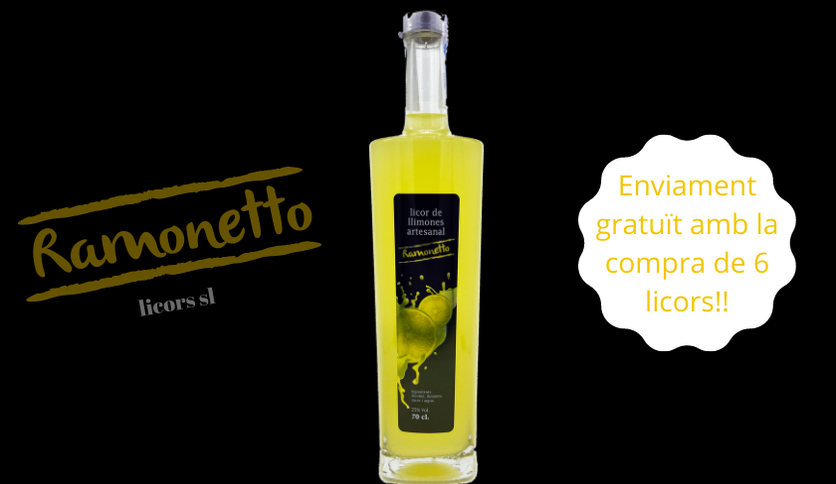 Local products Ramonetto lemon