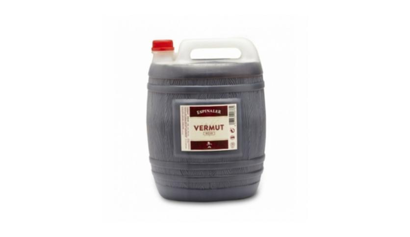 Local products Vermut negro 5l. Espinaler. 4un.