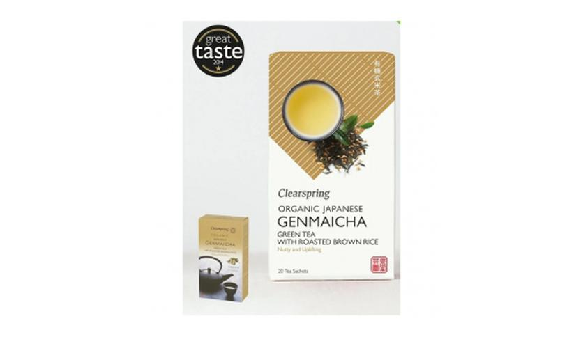 Local products Té Genmaicha 36gr. Clearspring. 4un.