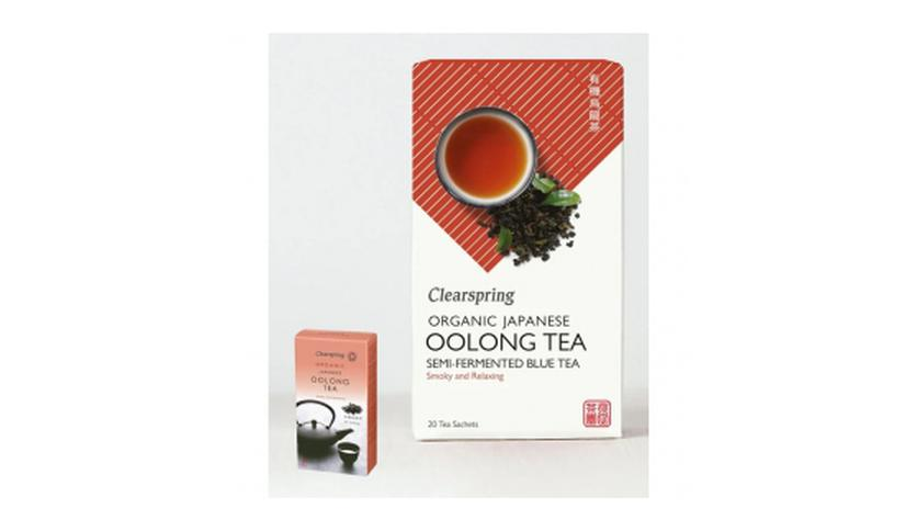 Local products Té Oolong 36gr. Clearspring. 4un.