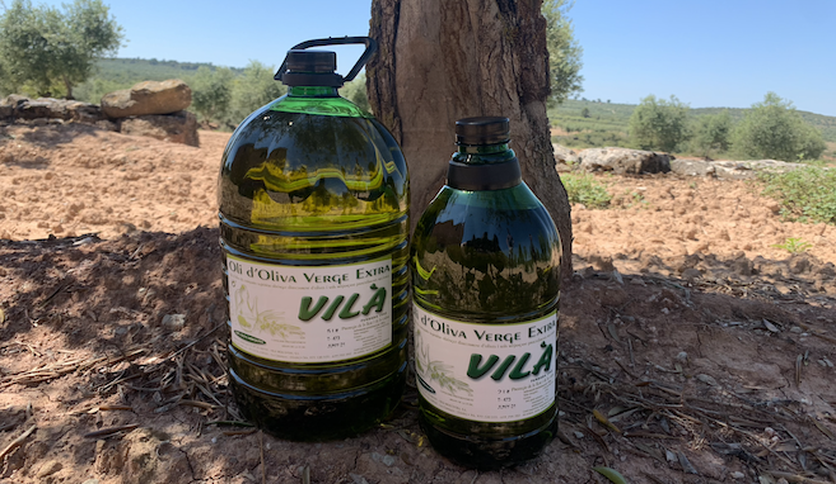 Local products VILÀ - VIRGIN EXTRA OLIVE OIL