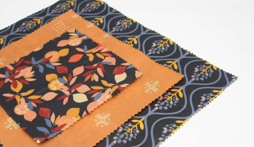 Local products PACK BEESWAX WRAPS 3u sizes S, M and L