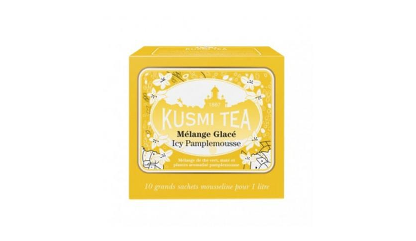 Local products Té Frío de Pomelo  10 Muslins. Kusmi Tea. 9un.