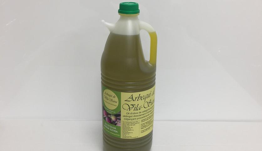 Local products ACEITE DE OLIVA VIRGEN EXTRA 100 % ARBEQUINA (2 Litros)