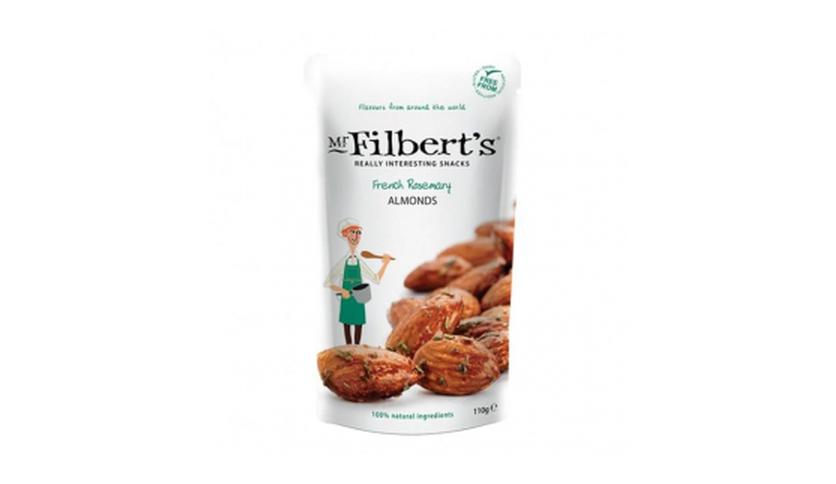 Local products Almendras con Romero francés 40gr. Mr. Filber'ts Snacks. 12ud