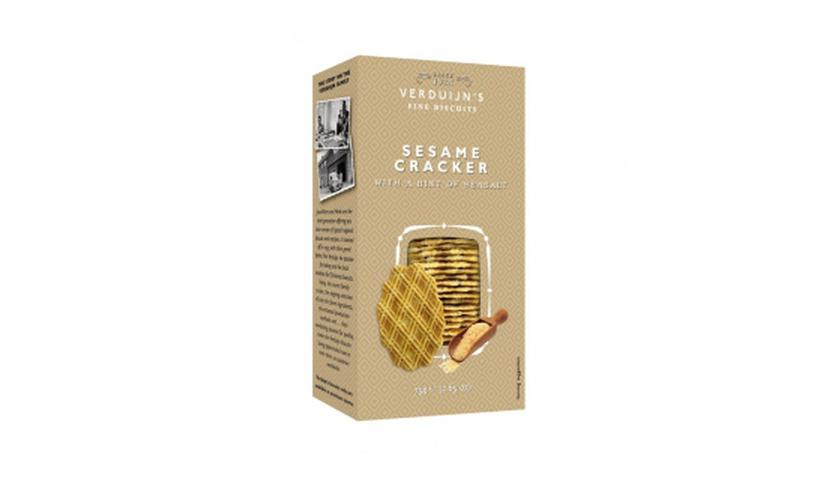 Local products Crackers con Sésamo y Sal 75gr. Verduijn's. 12uds.