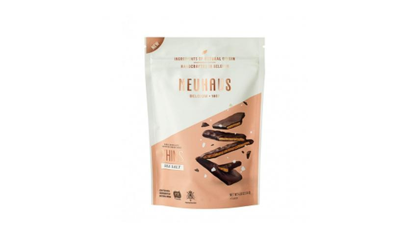 Local products Biscuits de Sal de Guérande y Chocolate Negro 114gr. Neuhaus. 6uds.