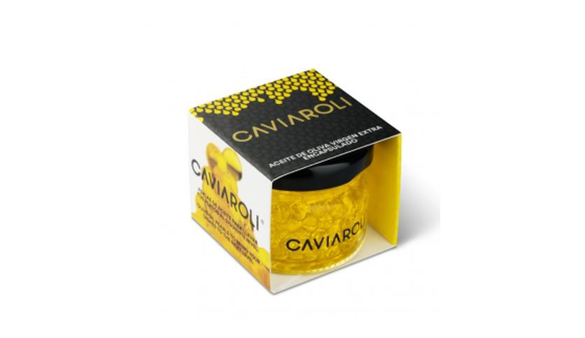 Local products Caviaroli de Arbequina 20gr. Caviaroli. 18un.