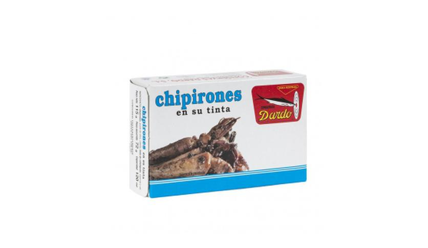 Local products Chipirones en su Tinta OL-120, 5/6u.  Dardo. 50un