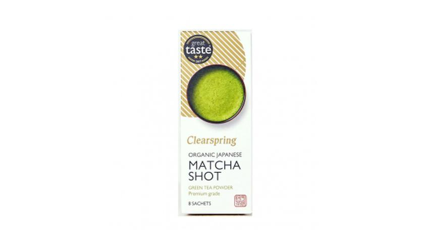 Local products Té Matcha Monodosis 8gr. Clearspring. 4un