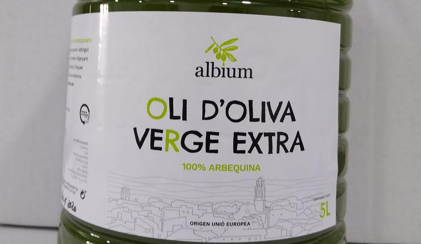 Local products Garrafa 5 litres oli albium (OOVE)