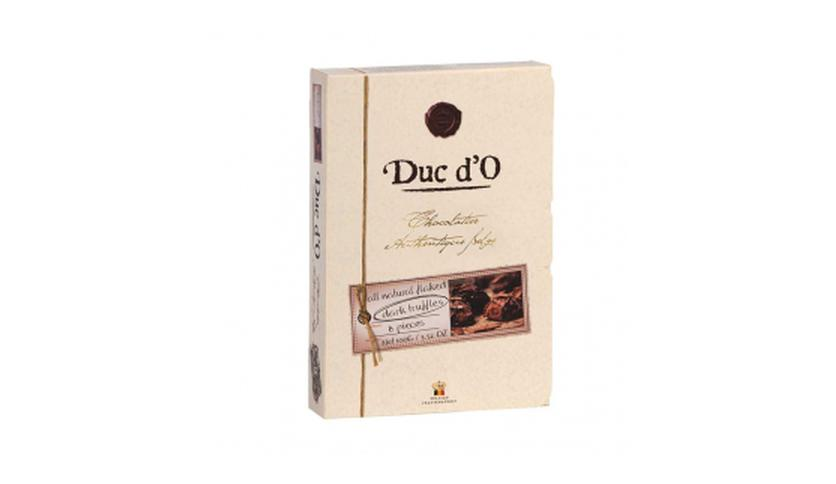 Local products Trufas de chocolate Negro 100gr. Duc d'O. 8un.