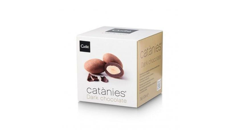 Local products Catanias Chocolate Dark (5 Catanias) 35gr. Cudié. 36uds