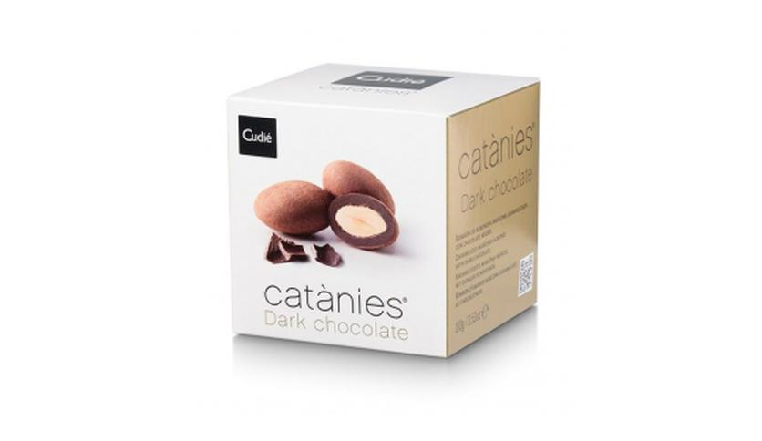 Local products Catanias Chocolate Dark (14 Catanias) 100gr. Cudié. 16uds