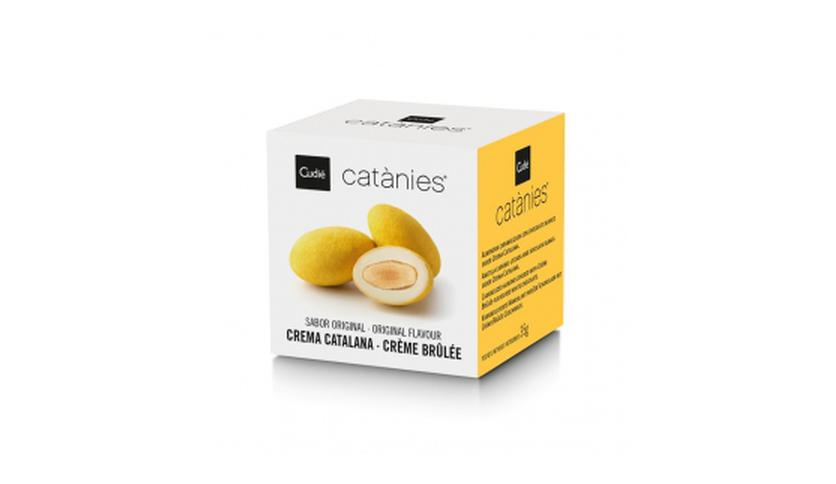 Local products Catanias Crema Catalana (5 Catanias) 35gr. Cudié. 36uds