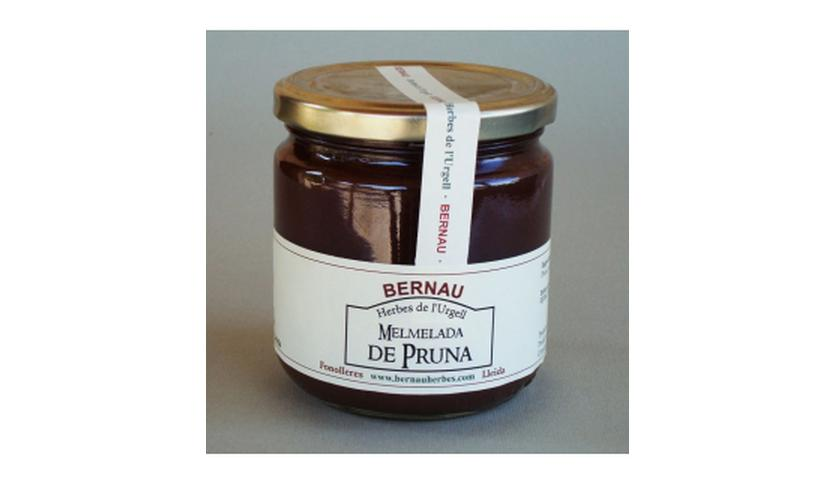 Local products Mermelada de Ciruela 400gr. Bernau Herbes. 6un.