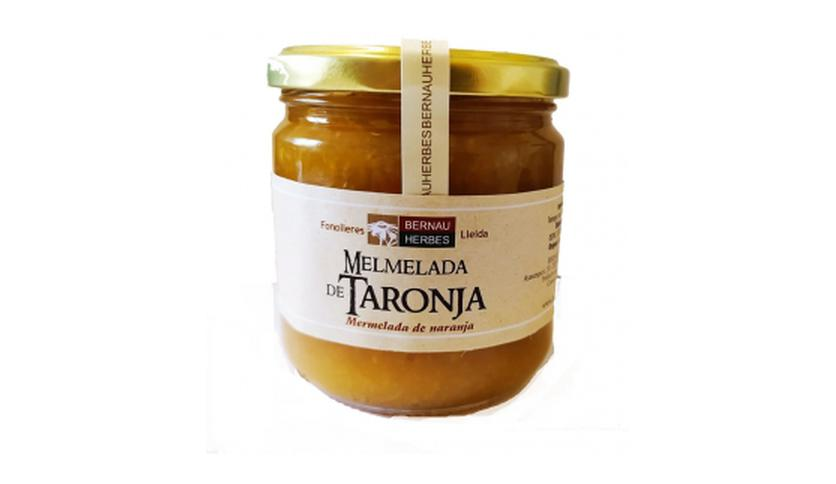 Local products Mermelada de Naranja 400gr. Bernau Herbes. 6un.