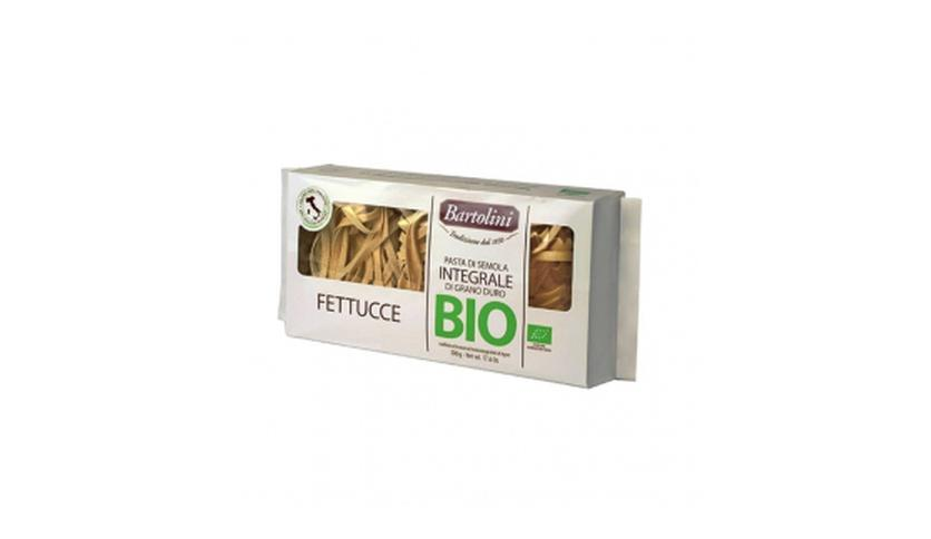 Local products Fettucche Integral BIO 500gr. Bartolini. 12un.